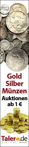 Talero.de Gold & Silber Münzen Auktion