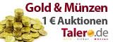 Talero.de: Gold & Silber Auktion