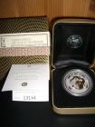 Lunar I Drache 2000, 1 Unze, Silber gilded + Box + COA