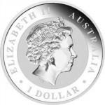 2011 Australian Koala 1oz Silber Rückseite