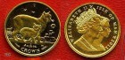 Isle of man 1/10 oz 2012 Manx Katze Gold
