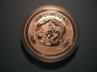 Lunar I, Drache 2000 Silber, 1 Oz, Australien