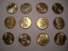11x 1 US-Dollar / USD Präsidenten (die ersten 11!) USA